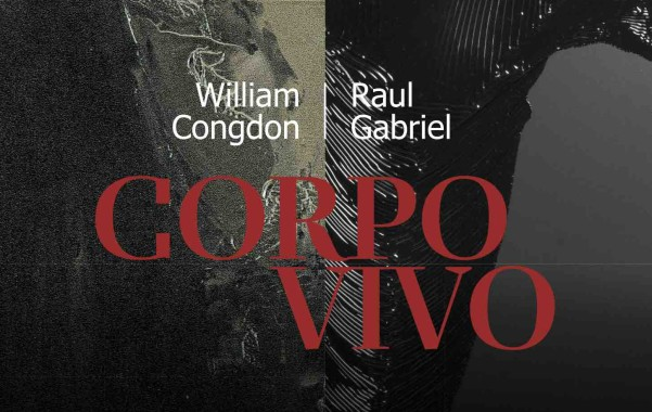 12 ottobre – 30 novembre 2017Milano, chiesa di Sant'AngeloCORPO VIVO William Congdon – Raul Gabriel