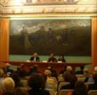 """26 settembre 2012  Presentazione del volume """"Aligi Sassu. Il Concilio Vaticano II""""  Chieti, Palazzo de' Mayo"""
