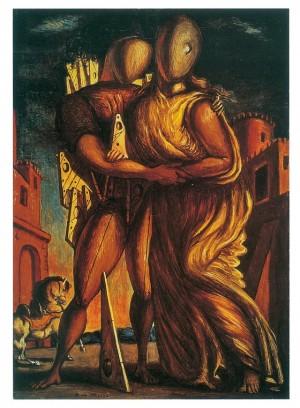 GiorgiodeChirico, Ettore e Andromaca, 1935