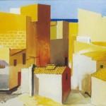 Guttuso, Case al mare, 1966