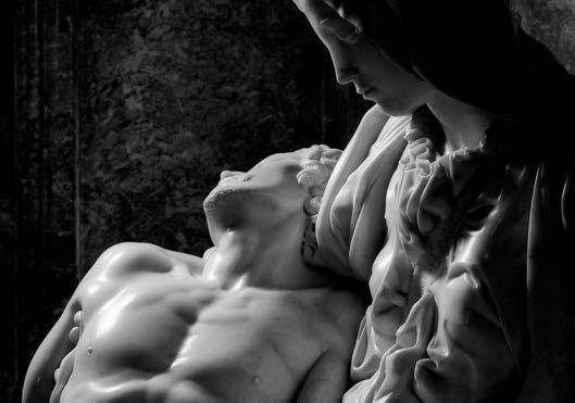 3 - Aurelio Amendola, Pietà, Michelangelo, 1998