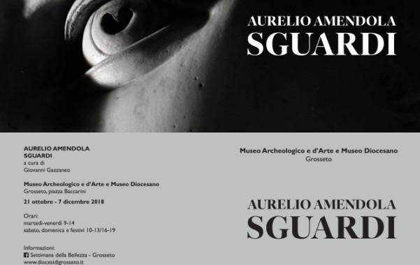 AURELIO AMENDOLA. SGUARDIMuseo Archeologico e d'Arte e Museo Diocesano, Grosseto