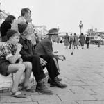turisti_ venezia_ 1957_E0001125_ElioCiol©